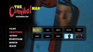 Cannibal Man Extended Cut Blu-ray Scenes Menu