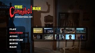 Cannibal Man International Cut Blu-ray Scenes Menu