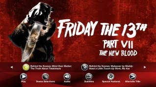 Paramount Pictures Friday the 13th Part VII: The New Blood Blu-ray Extras Menu 4