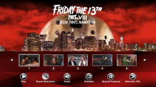 Paramount Pictures Friday the 13th Part VIII: Jason Takes Manhattan Blu-ray Scenes Menu