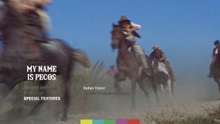 My Name is Pecos Blu-ray Extras Menu 2