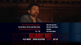 Scare Me Blu-ray Extras Menu