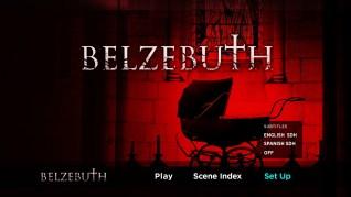 Belzebuth Blu-ray Setup Menu