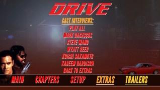 Drive Blu-ray Extras Menu 2