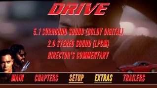 Drive Blu-ray Setup Menu