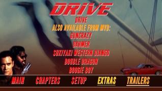 Drive Blu-ray Trailers Menu