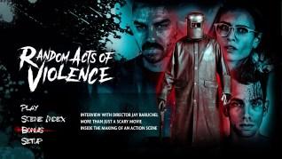 Random Acts of Violence Blu-ray Extras Menu