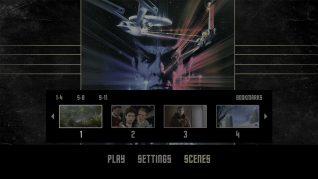 Star Trek III: The Search for Spock 4K UHD Scenes Menu