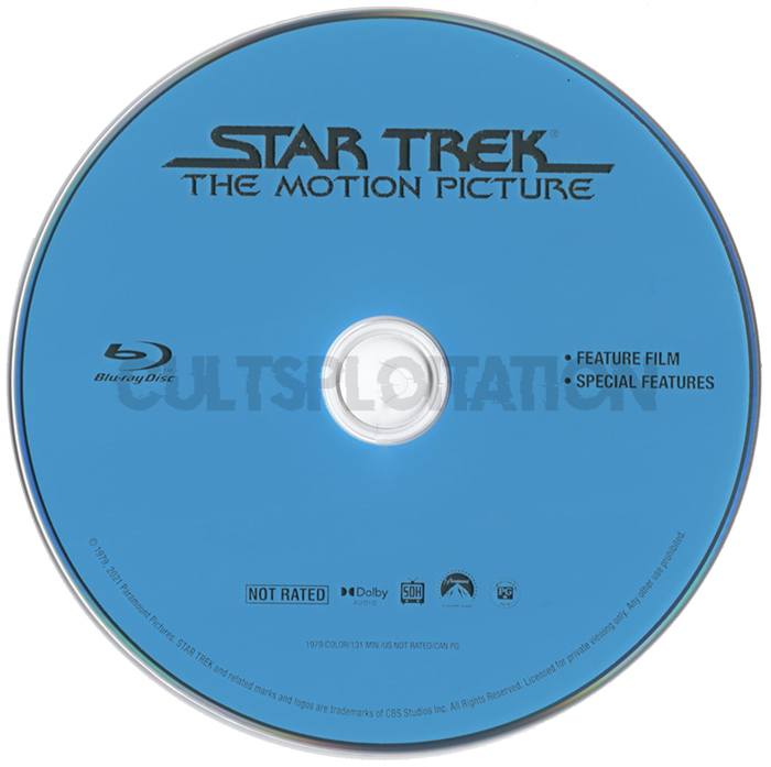 Star Trek: The Motion Picture Blu-ray Disc