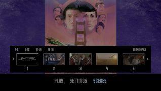 Star Trek IV: The Voyage Home 4K UHD Scenes Menu