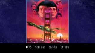 Star Trek IV: The Voyage Home Blu-ray Menu