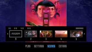 Star Trek IV: The Voyage Home Blu-ray Scenes Menu