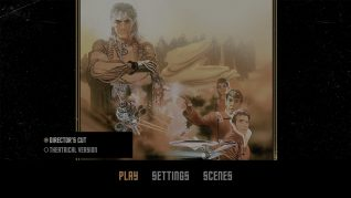 Star Trek II: The Wrath of Khan 4K UHD Menu