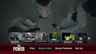 The Power Blu-ray Scenes Menu