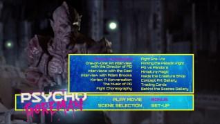 Psycho Goreman Blu-ray Extras Menu