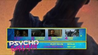 Psycho Goreman Blu-ray Scenes Menu
