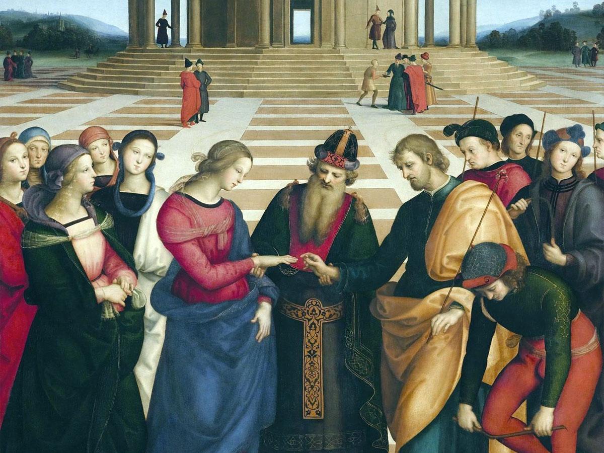 El matrimonio de la Virgen