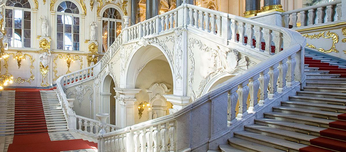 Hermitage - Escalera interior