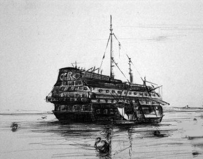 Resultado de imagen de pontones de cadiz