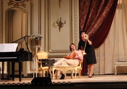 Grandissima Monica Guerritore all'Eliseo di Roma ma il musical è un'altra cosa