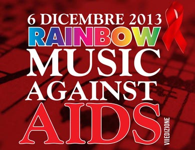 Rainbow Music Against AIDS, a Roma il 6 dicembre