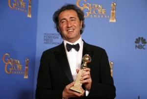 Paolo Sorrentino Golden Globe 2014