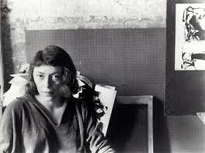 Joan Mitchell, lady painter a Bregenz in Austria