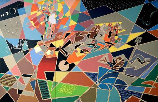 Gino-Severini-Zeus-partorito-dal-sole-1954