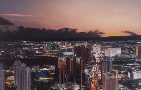 "La ""Las Vegas"" di Raphaella Spence (particolare)"