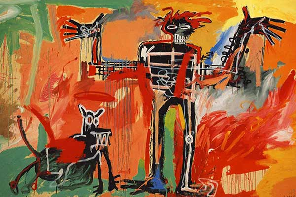 A Milano c'è Jean Michel Basquiat, fino al 26 febbraio