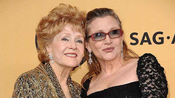 Muore Debbie Reynolds, era la madre di Carrie Fisher