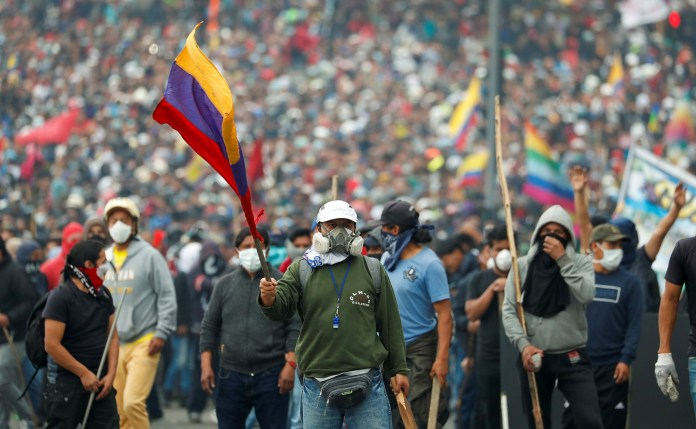 Paro nacional Ecuador