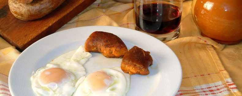 Farinato con huevos