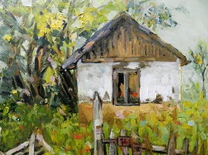 pictura contemporana petre chirea peisaj