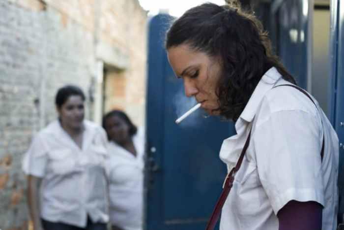 Lira Ribas em uma das cenas de 'Estado Itinerante'. Foto: Divulgação