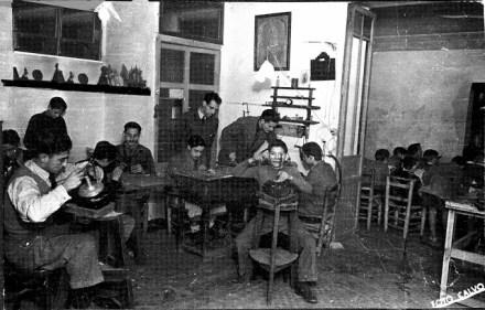 El taller en una foto a prinicipios del siglo XX - Fuente: Blog Valenciarte