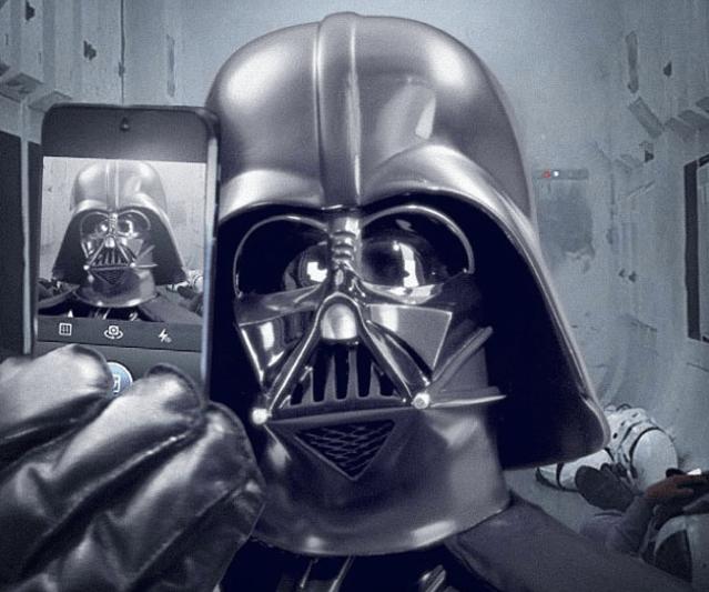 cultura-geek-selfie-darthvader-instagram