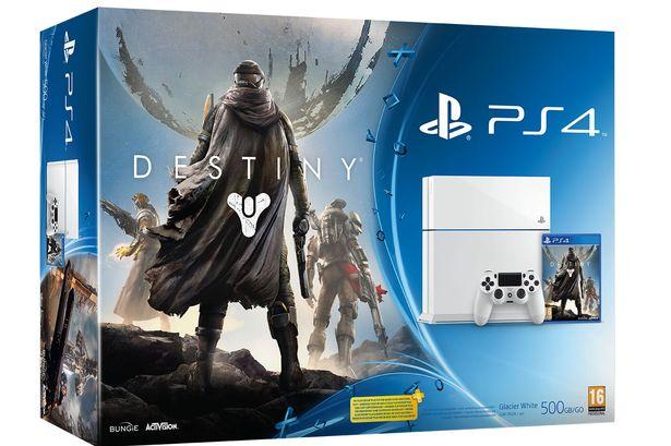 Destiny PS4 blanca bundle Argentina - CulturaGeek.com.ar