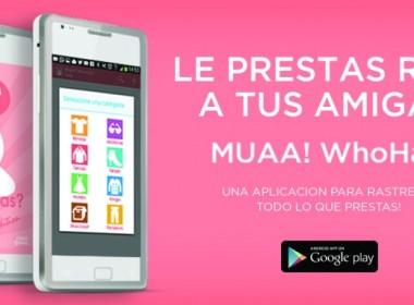 Muaa! presentá una app para que tus amigas no te roben la ropa