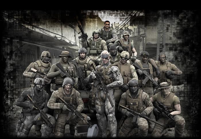 Metal Gear Online @culturageek