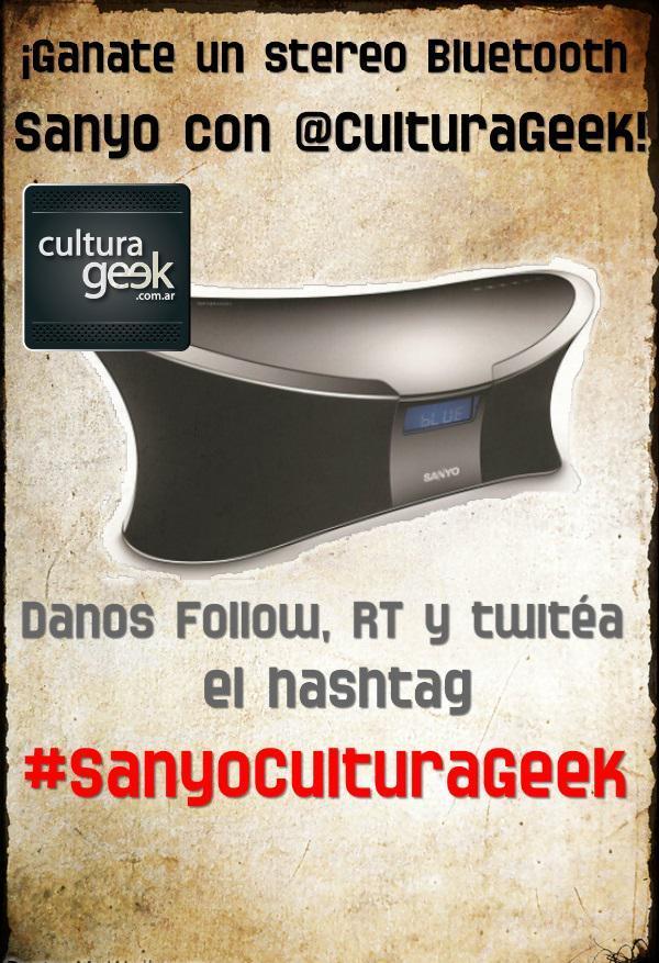 Sorteo Sanyo CulturaGeek