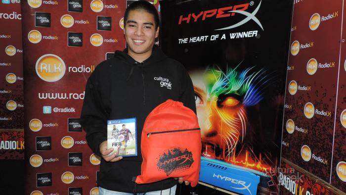 Cultura Geek - Desafío HyperX Fifa15 con Patán vs Oyentes