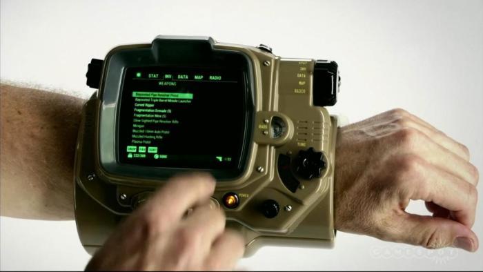 Cultura Geek Fallout 4 Pipboy E3 2015