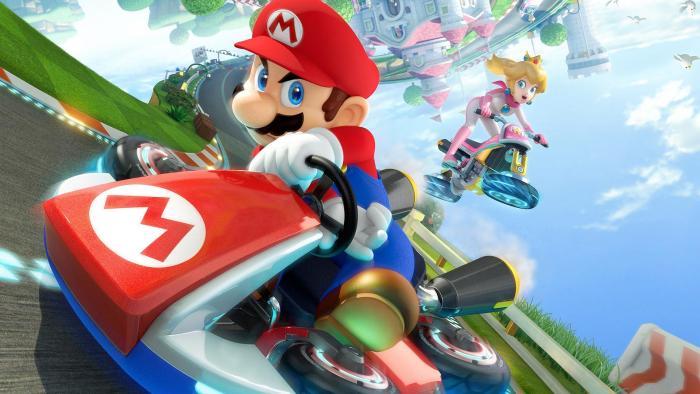 Cultura Geek Mario Kart 8