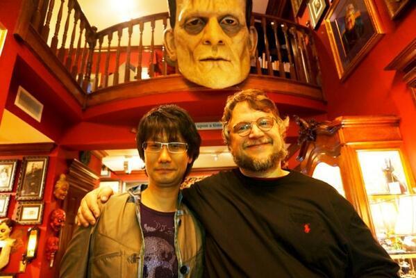 Cultura Geek Kojima Del Toro