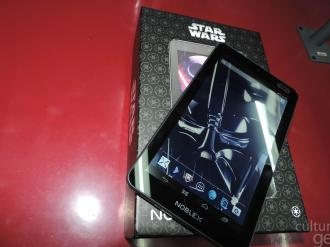 Cultura Geek tablet noblex Star Wars isurus Gaming !
