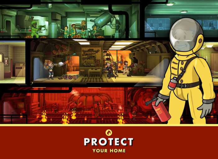 Cultura Geek Fallout Shelter Android 1