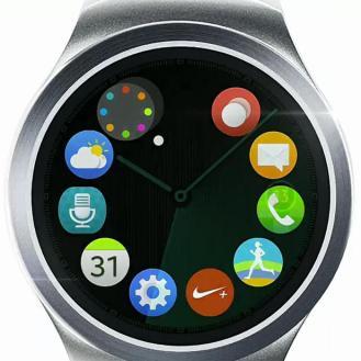 Unpacked Samsung Smartwatch Gear s2 culturageek.com.ar