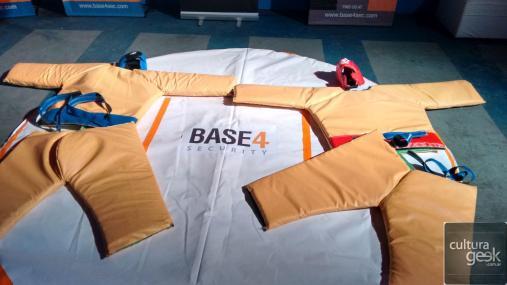 El Stand de lucha de Base4.