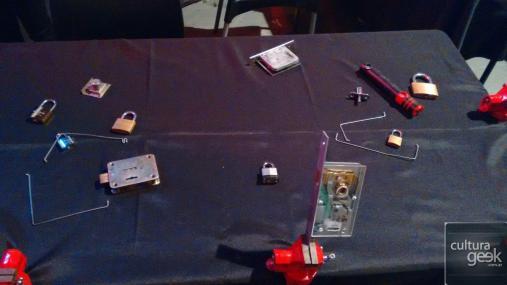 La mesa de Lockpicking.